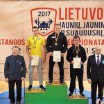 2017 m. gruodžio 2 d. vyko Lietuvos jaunių, jaunimo ir suaugusiųjų štangos spaudimo čempionatas Joniškyje