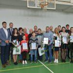 2018 m. balandžio 14 d. iškilmingai apdovanoti geriausi krašto sportininkai bei jų treneriai